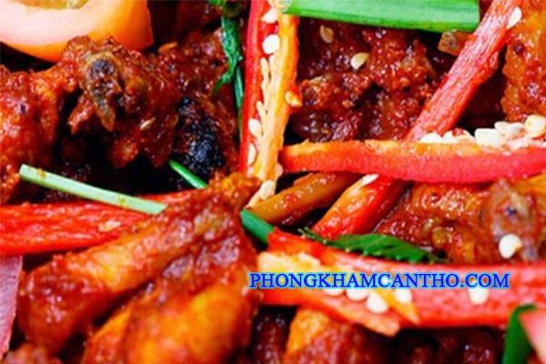 Khong an do cay nong